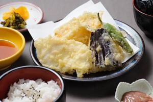 天ぷら定食A